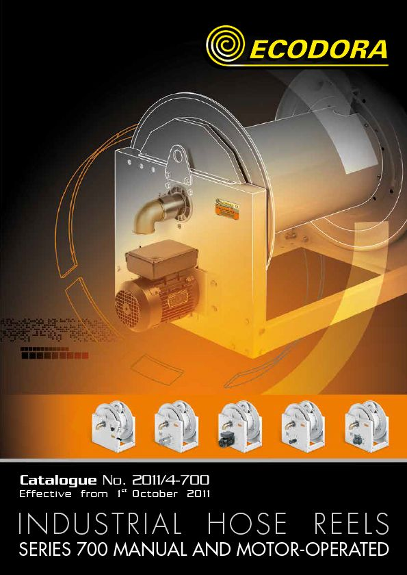 Hose reels s. 700 catalogue