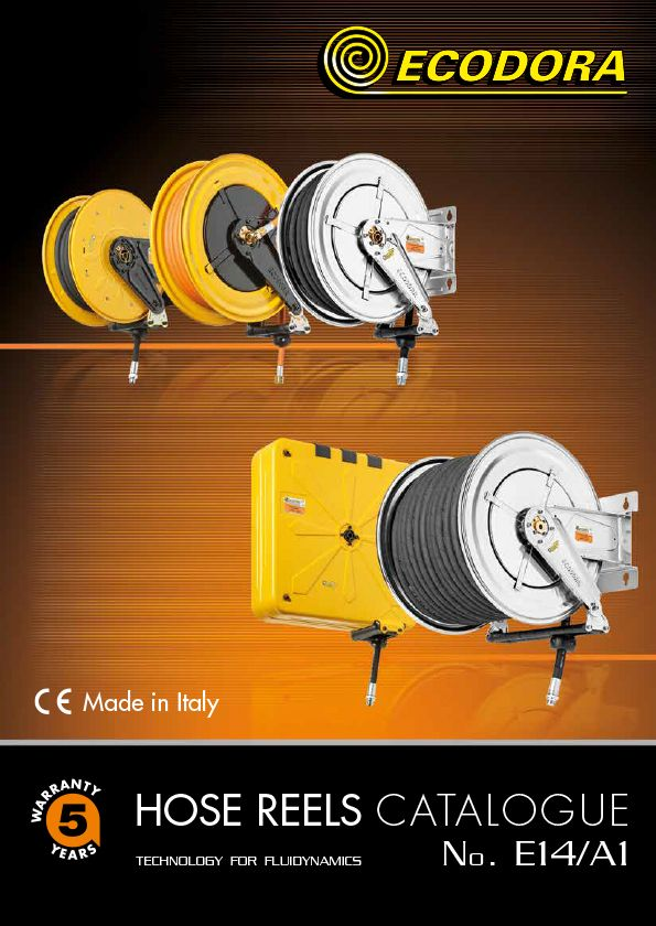 A1 hose reel catalogue