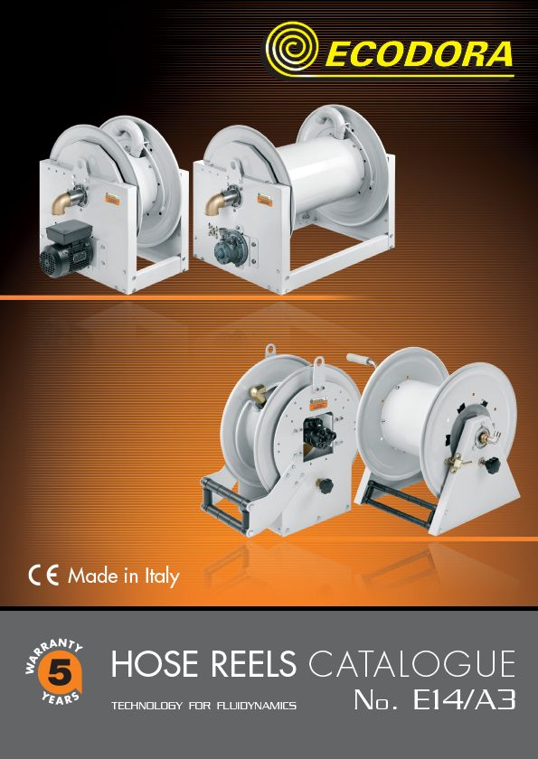 A3 hose reel catalogue