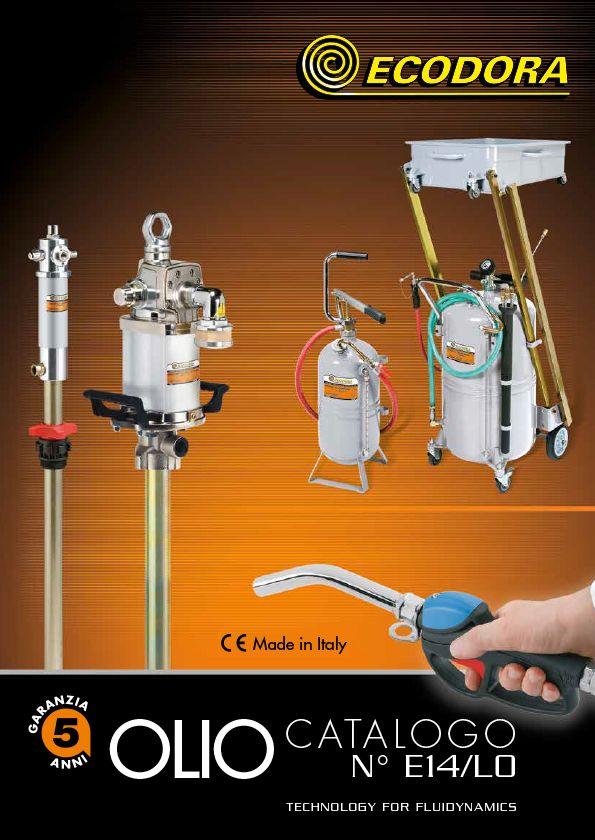 Catalogo lubrificazione olio