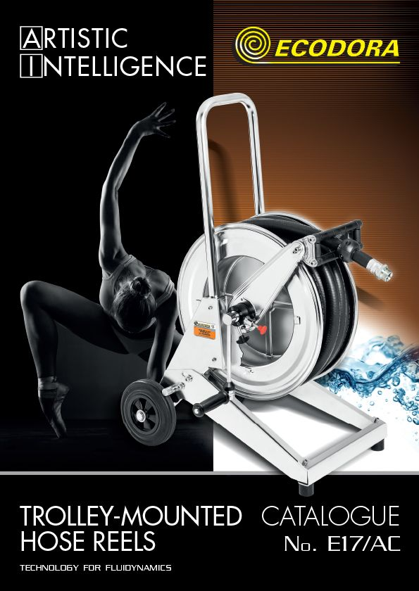 Trolley-mounted hose reels catalogue