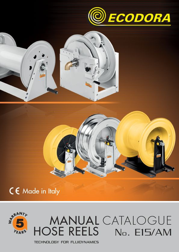 Manual hose reels catalogue
