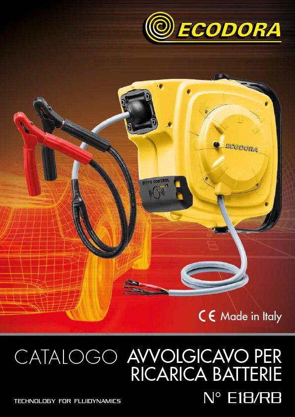Catalogo per avvolgicavo per ricarica batterie