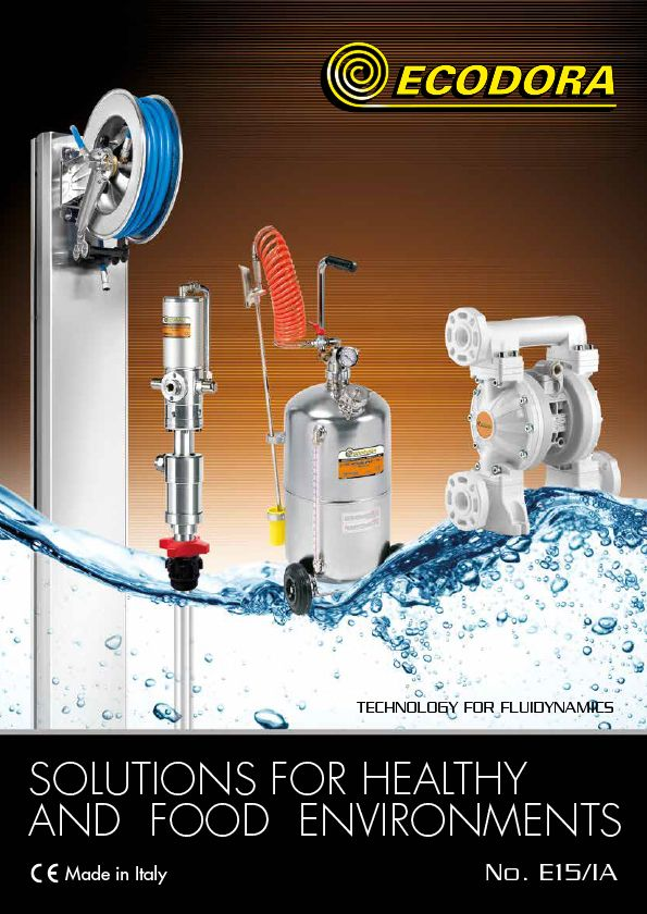 Solutions for healthy and food environments catalogue