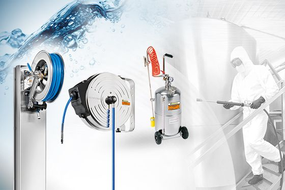 ARTICLES AVAILABLE FOR THE WASHING OF HYGIENIC-FOOD ENVIRONMENTS