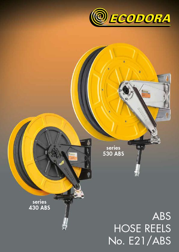 ABS hose reels catalogue
